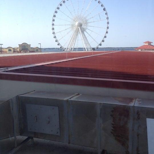 Photo taken at Hilton Pensacola Beach by Angela W. on 9/24/2012