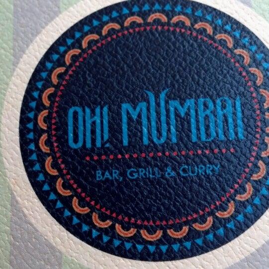 Снимок сделан в Oh! Mumbai пользователем Nik O. 8/18/2013