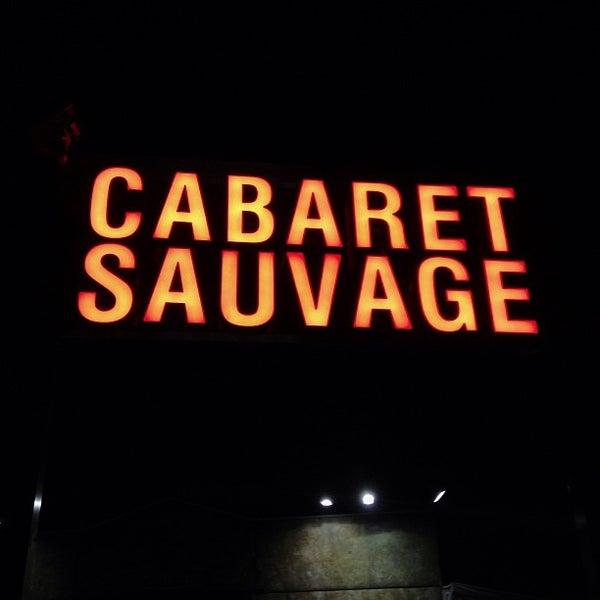 Снимок сделан в Cabaret Sauvage пользователем Gilles D. 12/12/2012