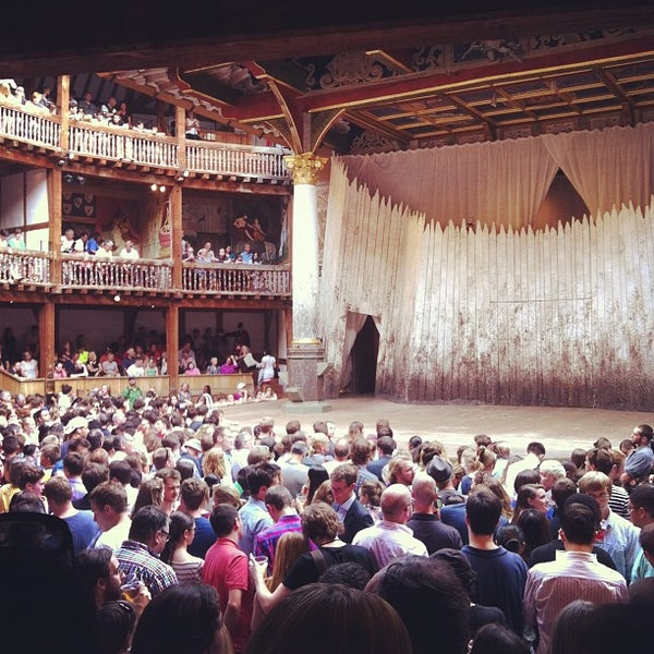 Photo taken at Shakespeare's Globe Theatre by Ivan V. on 7/26/2013