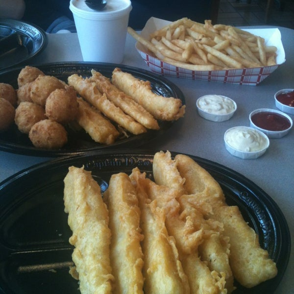 Captain d 39 s fast food restaurant for Jack in the box fish and chips