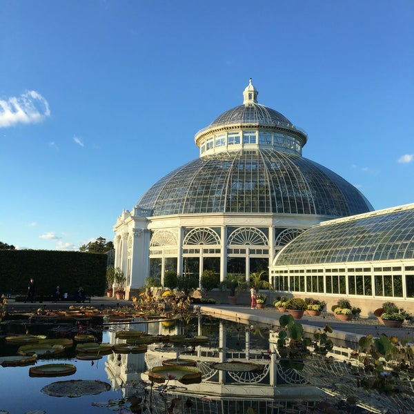 Photo taken at Enid A. Haupt Conservatory by Marissa on 10/23/2016