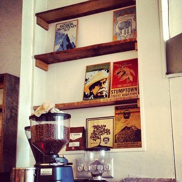 Photo taken at Bodhi Coffee by Carl J. on 12/23/2012