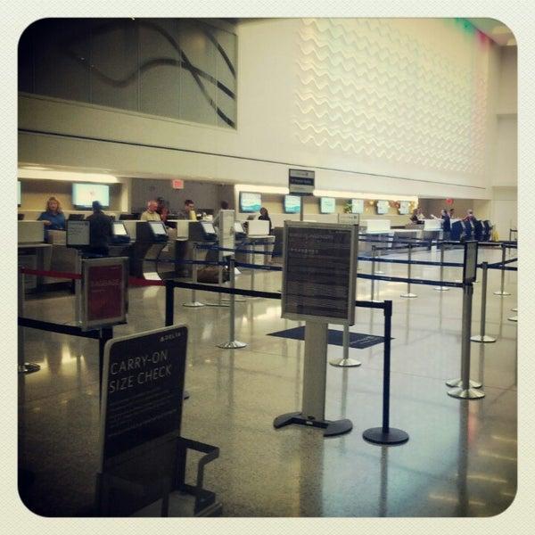 Photo taken at Portland International Jetport (PWM) by shannon k. on 10/21/2012