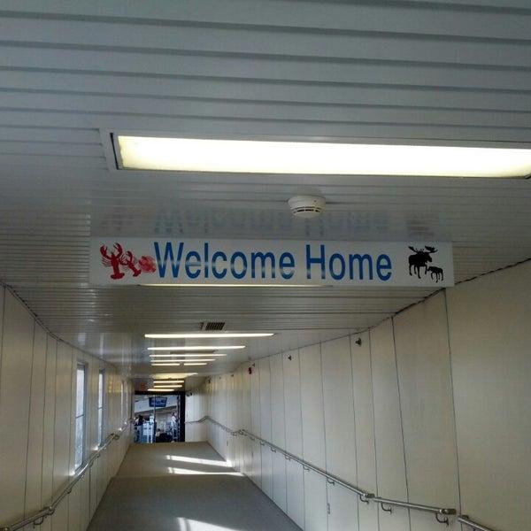 Photo taken at Portland International Jetport (PWM) by shannon k. on 4/20/2013