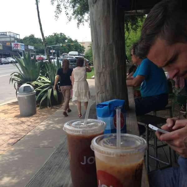 Photo taken at Jo's Coffee by Selina R. on 5/28/2013
