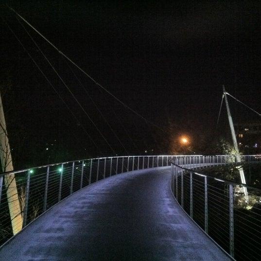 Photo taken at Liberty Bridge by Kevin L. on 11/25/2012