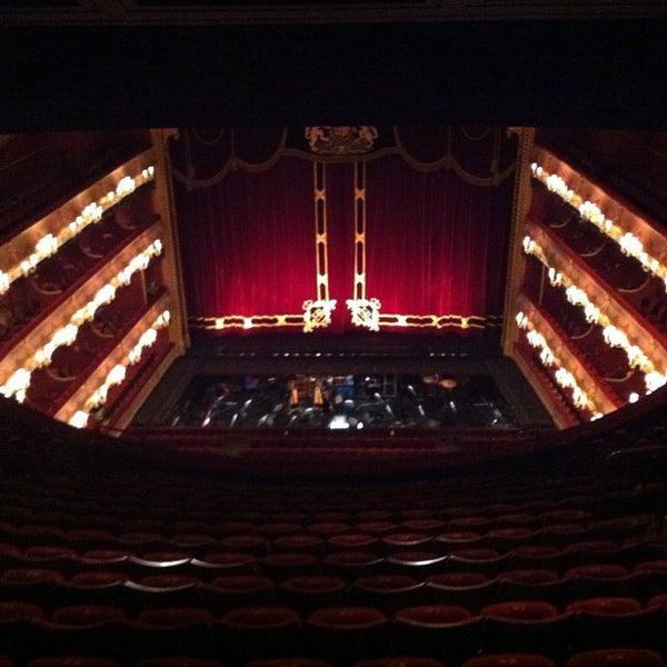 Photo taken at Royal Opera House by Samantha K. on 12/10/2012