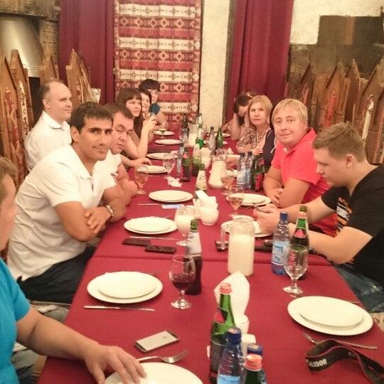 Снимок сделан в Old Erivan Restaurant Complex пользователем Денис Е. 8/7/2014