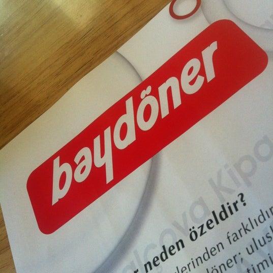 12/3/2012 tarihinde Fusun B.ziyaretçi tarafından Baydöner'de çekilen fotoğraf