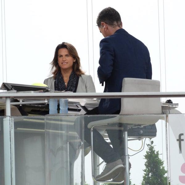 Photo taken at Stade Roland Garros by Nic M. on 5/31/2016