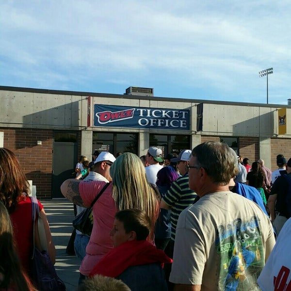 Photo taken at Brent Brown Ballpark by Mike W. on 6/21/2015