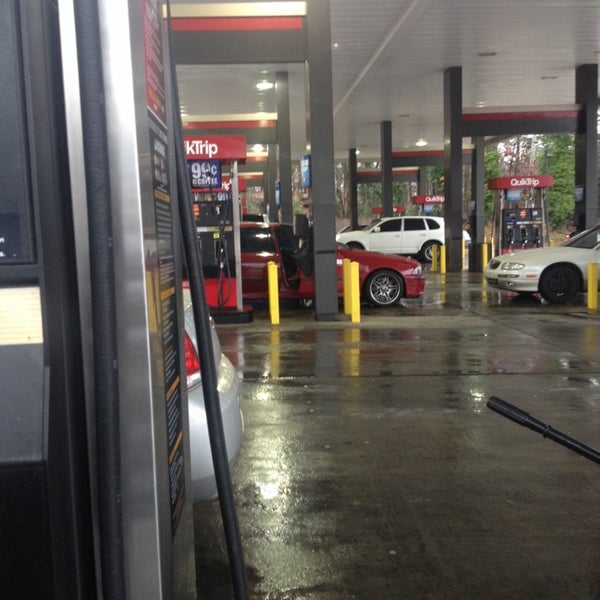 Photo taken at QuikTrip by Kym H. on 1/2/2014