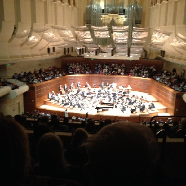 Photo taken at Louise M. Davies Symphony Hall by Matt T. on 2/14/2013