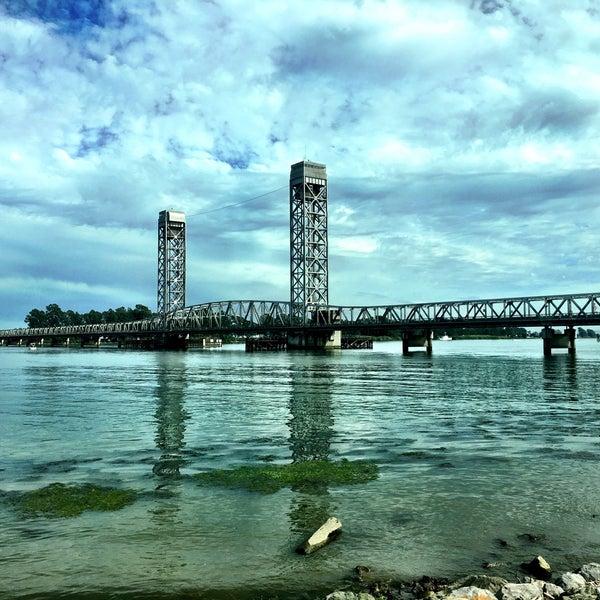 Photo taken at Rio Vista Bridge by debra11 on 7/16/2017