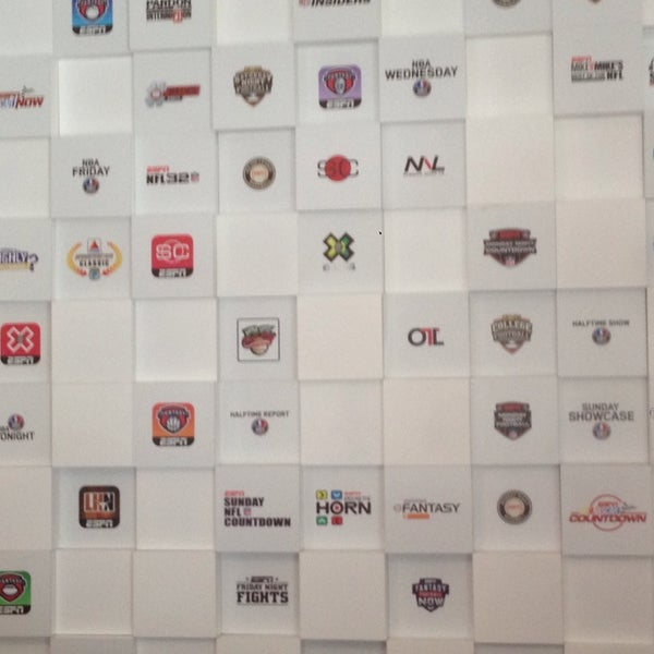 Photo taken at ESPN by Matt J. on 6/11/2014