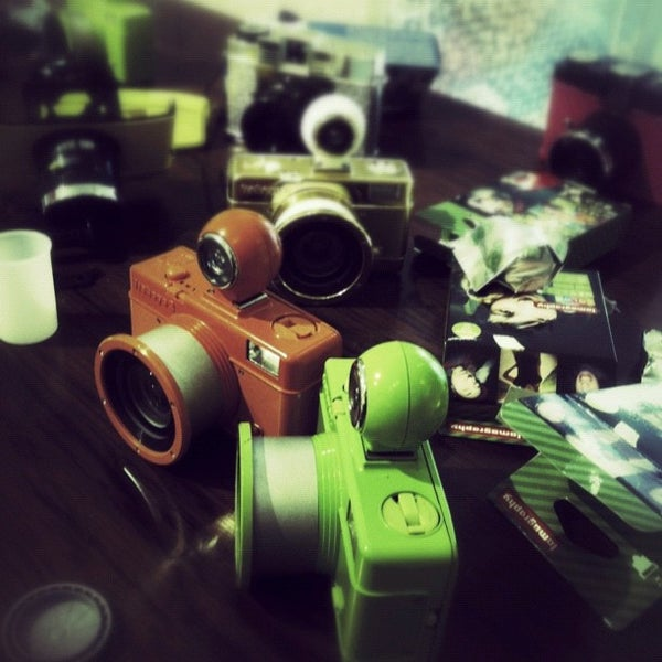 Photo taken at Lomography Gallery Store by Andre S. on 10/6/2012