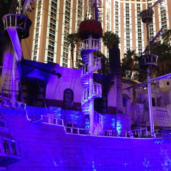 Photo taken at Treasure Island - TI Hotel & Casino by Nadya on 5/23/2013