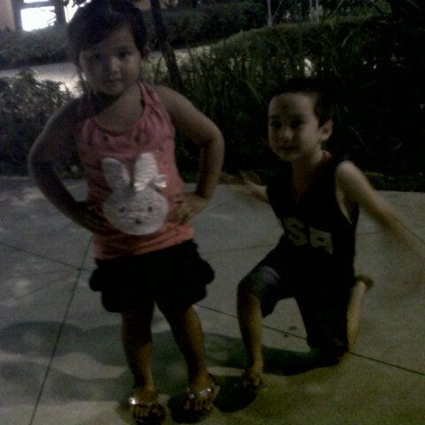 Photo taken at Bonifacio High Playground by Len C. on 12/20/2012