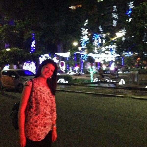 Photo taken at Parque Las Palmas by Tatiana N. on 11/14/2013