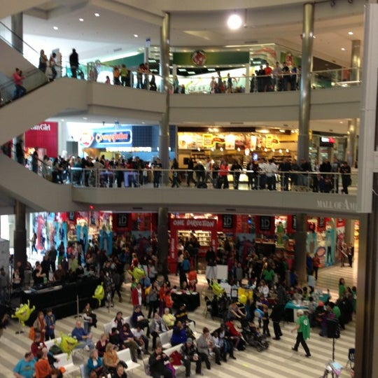 Photo taken at Mall of America by Jason T. on 3/23/2013
