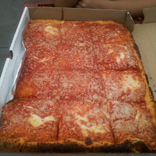 Photo taken at L&B Spumoni Gardens by hector s. on 10/3/2012