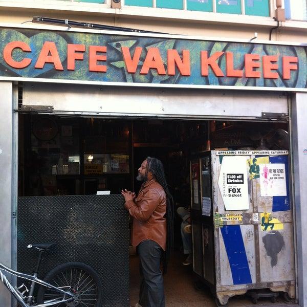 Cafe Van Kleef Happy Hour