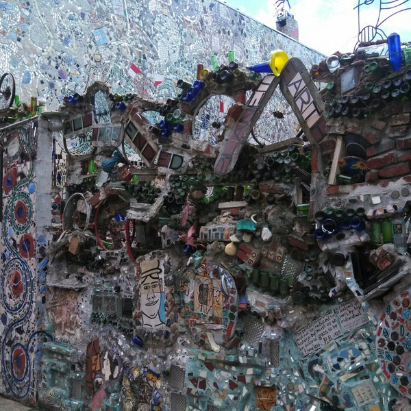 Photo taken at Philadelphia's Magic Gardens by Alvin on 7/13/2013