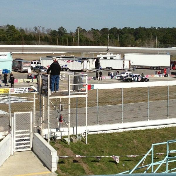 Myrtle Beach Speedway Racetrack In Myrtle Beach