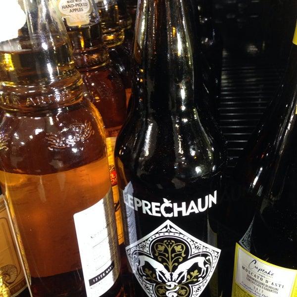 Photo taken at H-E-B by Leprechaun Cider Company on 11/11/2013