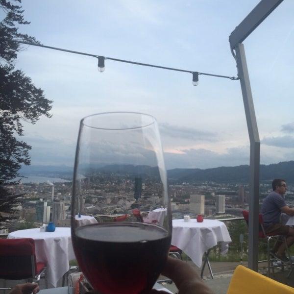 Das Foto wurde bei Restaurant Die Waid von Seda T. am 9/16/2018 aufgenommen