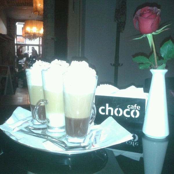 Photo taken at Choco Cafe by Ivona D. on 11/2/2013