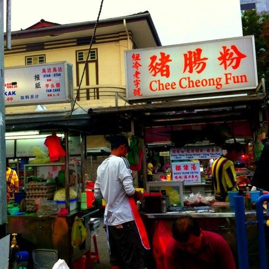 Photo taken at New Lane Hawker Stalls by Puk M. on 9/22/2012