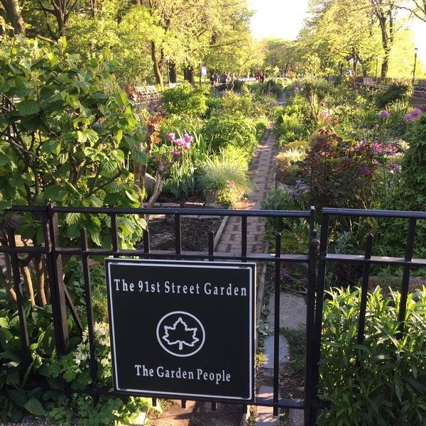 Photo Taken At Riverside Park   91st Street Garden By Leigh S. On 5/