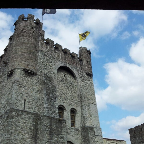 Photo taken at Castle of the Counts by Jean-Pierre A. on 4/6/2013