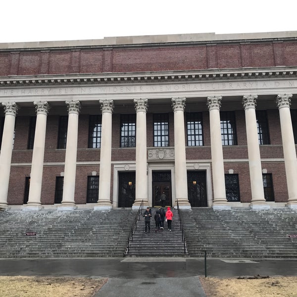 Photo taken at Widener Library by Mitchell Adrian Cheng S. on 3/31/2017