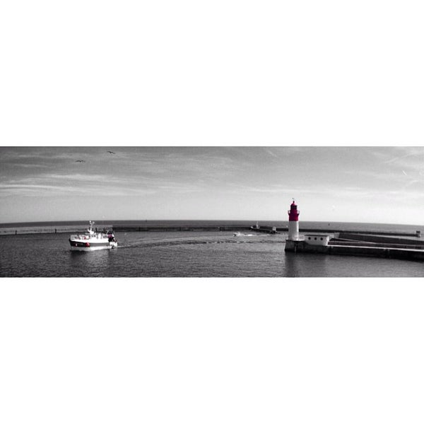 Photo taken at Port du Guilvinec by Julien P. on 6/15/2014