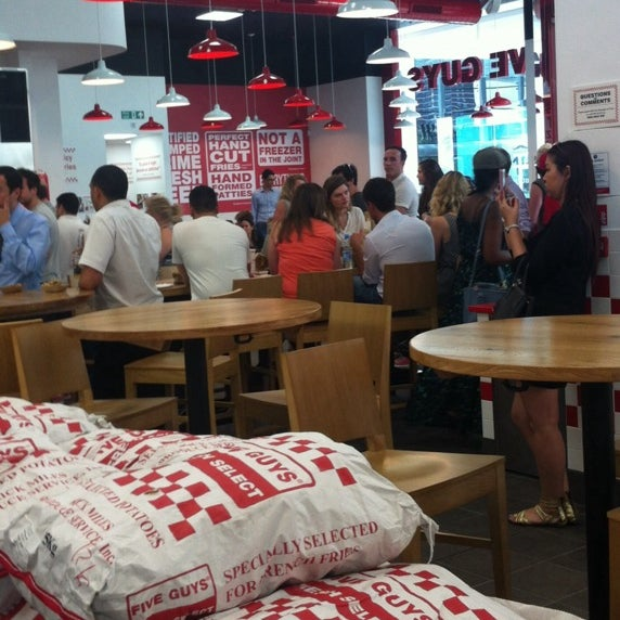 Photos At Five Guys Burger Joint In White City