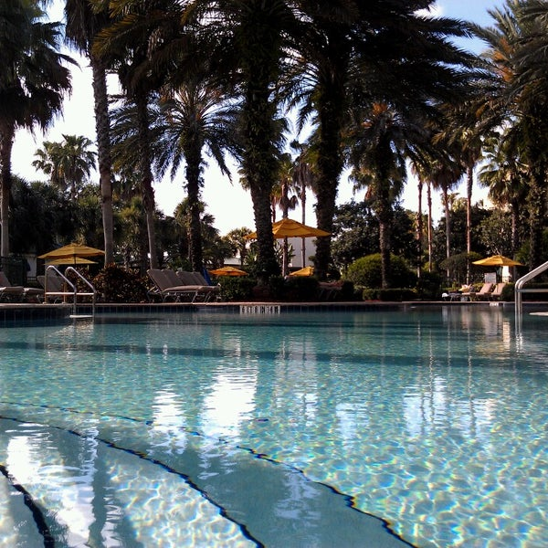 Photo taken at Marriott World Center Pool by Bryan S. on 5/31/2013