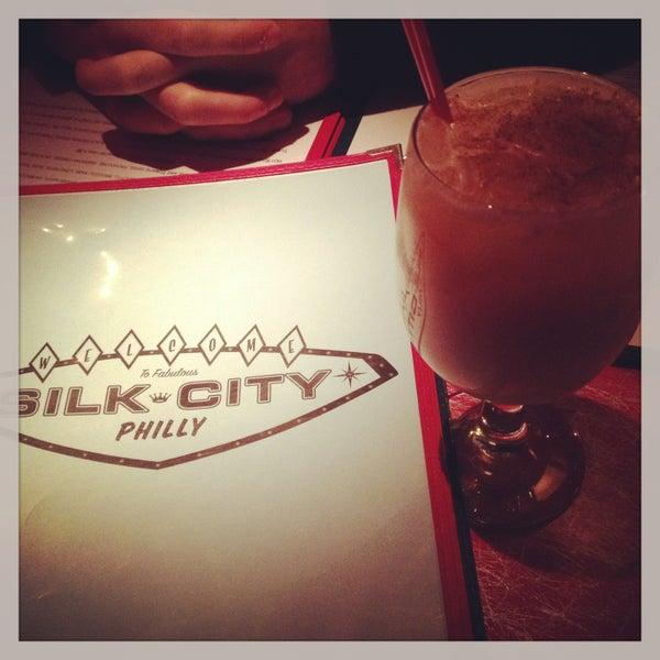Photo taken at Silk City Diner Bar & Lounge by Christine V. on 4/28/2013