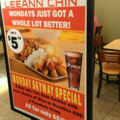 Leeann Chin Food