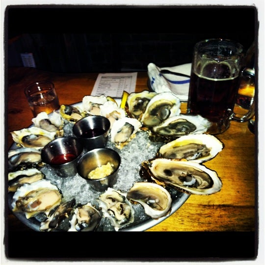 Photo taken at Upstate Craft Beer and Oyster Bar by Lisa F. on 9/20/2012