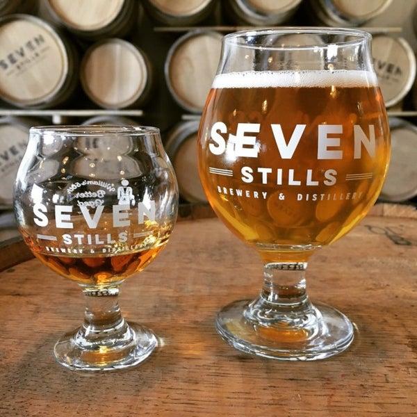 Photo taken at Seven Stills Brewery & Distillery by Kurtis H. on 10/8/2016