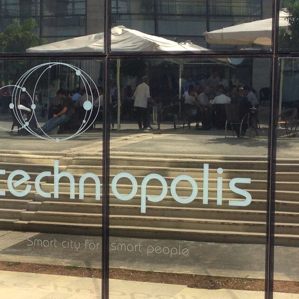 Photo taken at Technopolis by Yvon F. on 10/8/2013