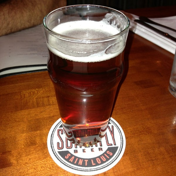 Photo taken at Schlafly Bottleworks by Travis D. on 12/21/2012