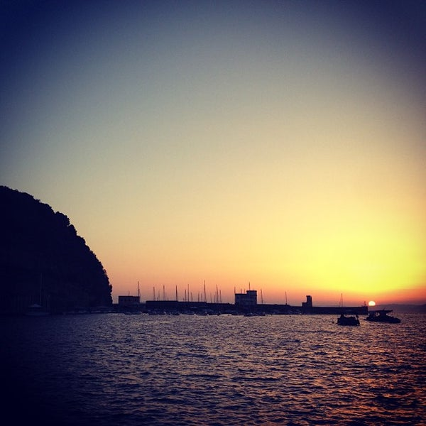 Photo taken at Isola di Nisida - Nisida Island by Vittorio L. on 7/28/2013