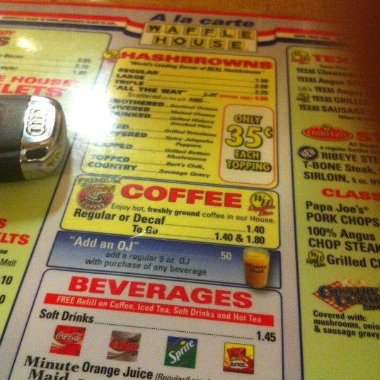 Photo taken at Waffle House by Bobby A. on 8/21/2011