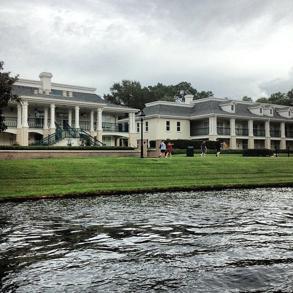 Photo taken at Disney's Port Orleans Riverside Resort by Mona on 8/28/2012
