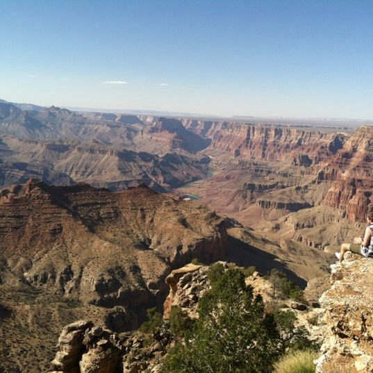 Photo taken at Red Feather Lodge Grand Canyon by Christy W. on 6/14/2012