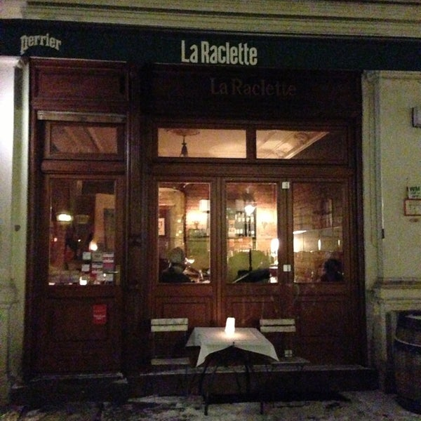 la raclette now closed french restaurant in berlin. Black Bedroom Furniture Sets. Home Design Ideas